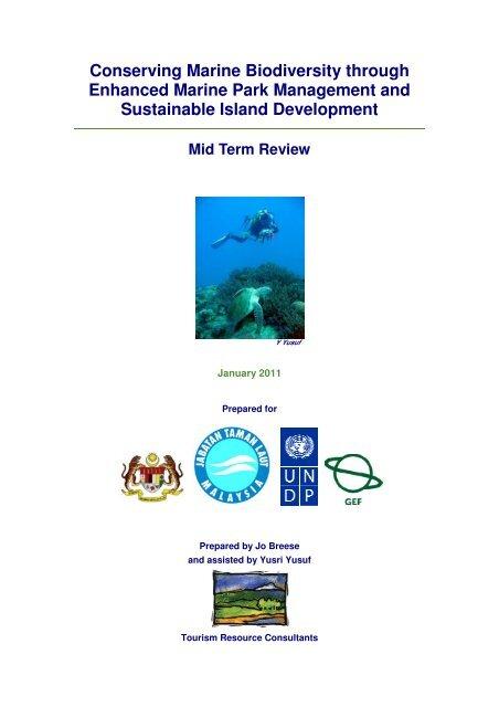 Report - Jabatan Taman Laut Malaysia - NRE