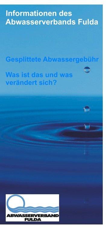 Bildschirmansicht - Abwasserverband Fulda