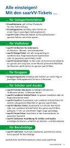 Unterwegs mit dem saarVV - saarVV Der Saarländische ... - Seite 3