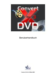 Benutzerhandbuch - Download - VSO Software