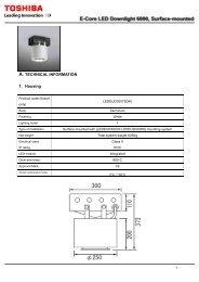 Toshiba LEV162324M830TE Energy Saving LED Lamp LED light Engine Warm White 24w