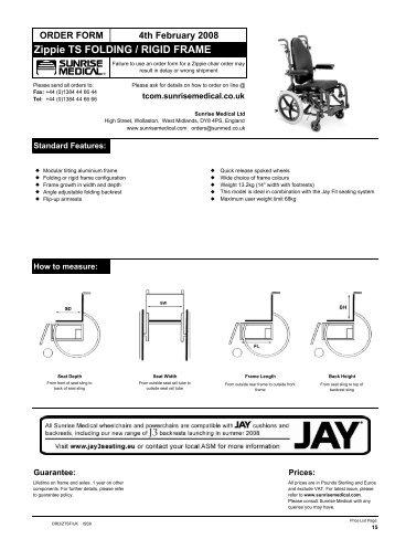 Zippie TS Folding (Iss 8) CT - Better Mobility