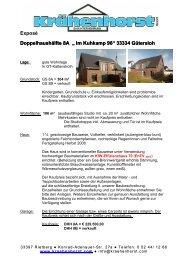 Exposé Doppelhaushälfte 8A