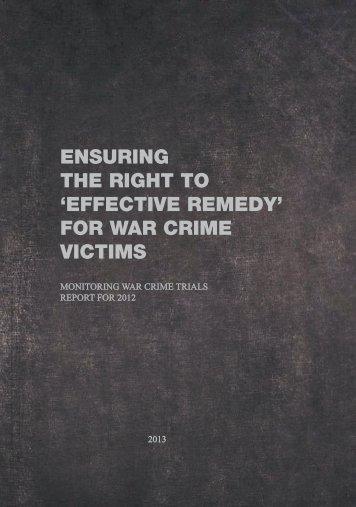 Annual Report for 2012 - Crime in Sisak
