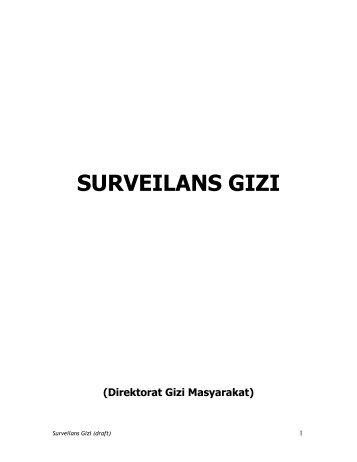 Surveilans Gizi (draft)