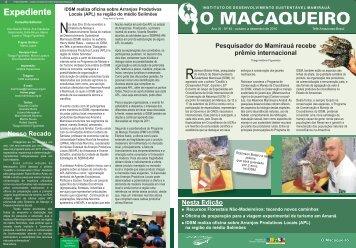 O Macaqueiro_nº 45.cdr - Instituto de Desenvolvimento Sustentável ...