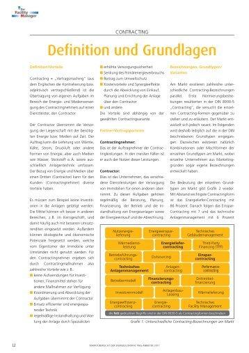 Contracting - Definition und Grundlagen - m+p gruppe