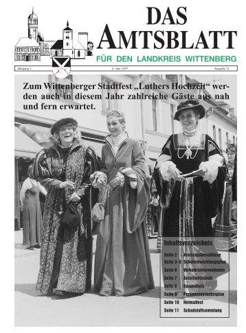 Luthers Hochzeit - Landkreis Wittenberg