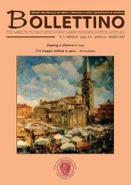 Marzo 2007 (pdf - 584 KB) - Ordine Provinciale dei Medici Chirurghi ...