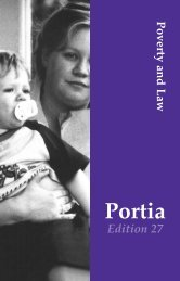Portia mag edition 27 - Victorian Women Lawyers