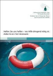 Flyer Stiftung / PDF, 573 KB - Klinik Linde