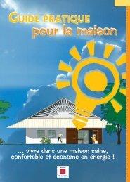 Guide pratique pour la maison - ADEME Guyane