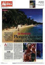 Plongez dans ses eaux cristalline! - Barbados