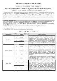EDITAL Nº - Instituto Mais