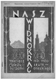 Cień 1930 r.' - PTTK