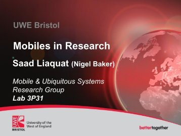 Using mobile devices in research