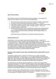 Tilityskirje joulukuu 2011 - Teosto