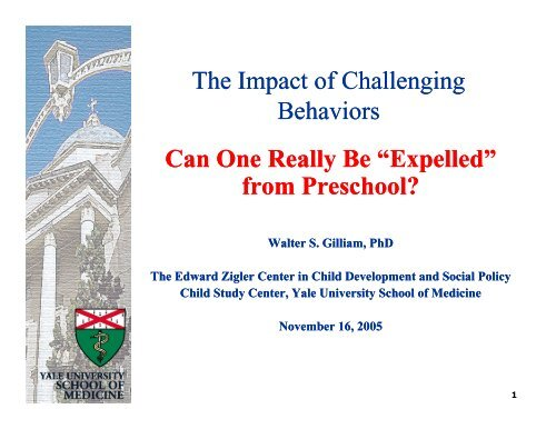 Challenging Behavior And Impact On >> The Impact Of Challenging Behavior
