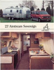 23'Airstream Sovereign