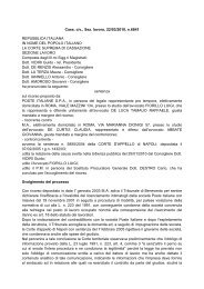 Cass. civ., Sez. lavoro, 22/03/2010, n.6841 REPUBBLICA ITALIANA ...