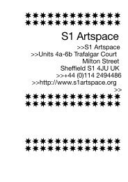 S1 Artspace - Sparwasser HQ