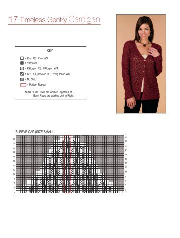 17 Timeless Gentry Cardigan - Knit 'N Style Magazine