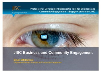 JISC Business and Community Engagement