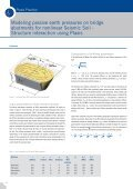 Modeling passive earth pressures on bridge abutments for ... - Plaxis - Page 3