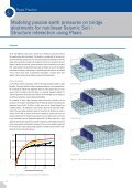 Modeling passive earth pressures on bridge abutments for ... - Plaxis - Page 7
