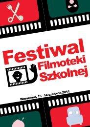 Program Festiwalu - Filmoteka Szkolna