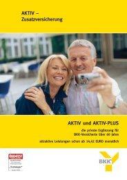 Zusatzversicherung - bei der BKK exklusiv