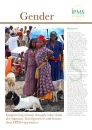 Empowering women through value chain development - IPMS ...