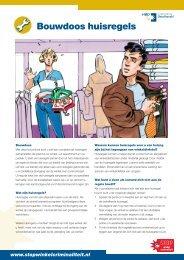 Bouwdoos huisregels