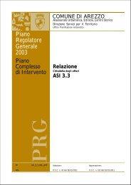 Relazione tecnica - Comune di Arezzo
