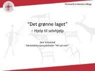 """Det grønne laget"" - Norgesuniversitetet"