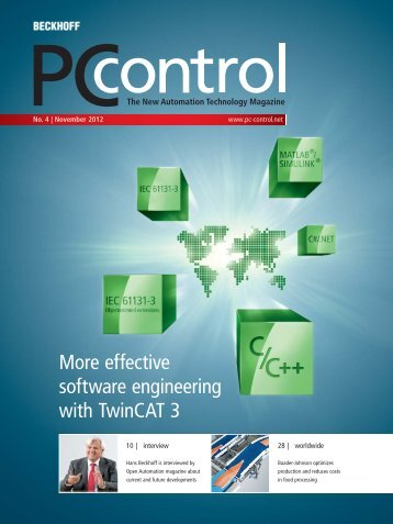 Download issue 04 | 2012 as PDF file - PC-Control The New ...