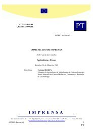 Comunicado do Conselho da União Europeia - CNA