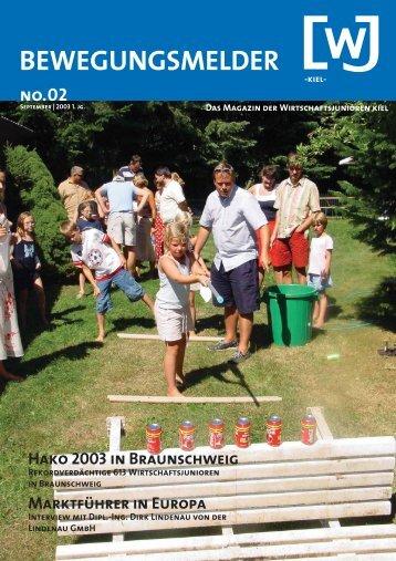 Hako 2003 in Braunschweig - Wirtschaftsjunioren Kiel