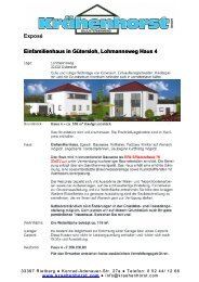 Exposé Einfamilienhaus in Gütersloh, Lohmannsweg Haus 4