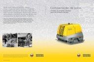 Compactação de solos. - Wacker Neuson
