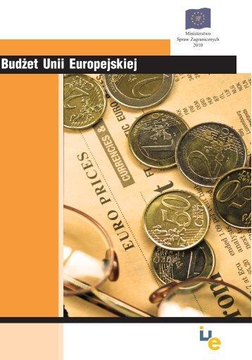 budzet 2010 - Centrum Informacji Europejskiej