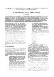 On the Structure of Natural Bidding Systems - Claire Bridge