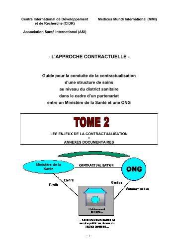 L'APPROCHE CONTRACTUELLE - Accueil