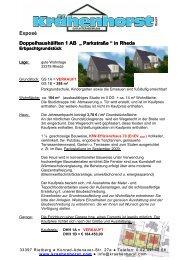 "Doppelhaushälften 1 AB "" Parkstraße "" in Rheda"