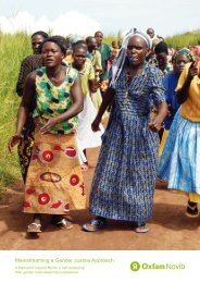 Mainstreaming a Gender Justice Approach - weman