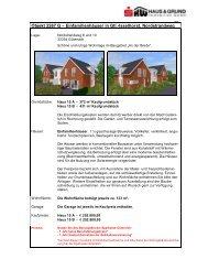 Objekt 2267 G – Einfamilienhäuser in Gtl.-Isselhorst, Nordstrandweg