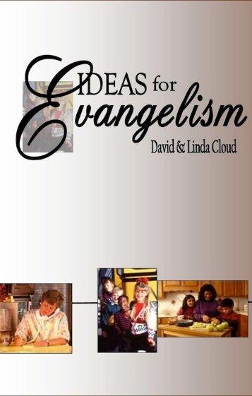 Ideas For Evangelism - Way of Life Literature