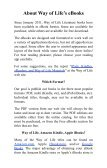 Ideas For Evangelism - Way of Life Literature - Page 6