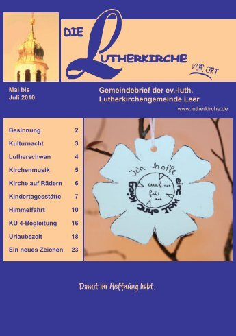 ihno gerdes - Lutherkirche Leer