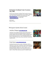 Destination Northland Trade Newsletter May 2008 ... - New Zealand